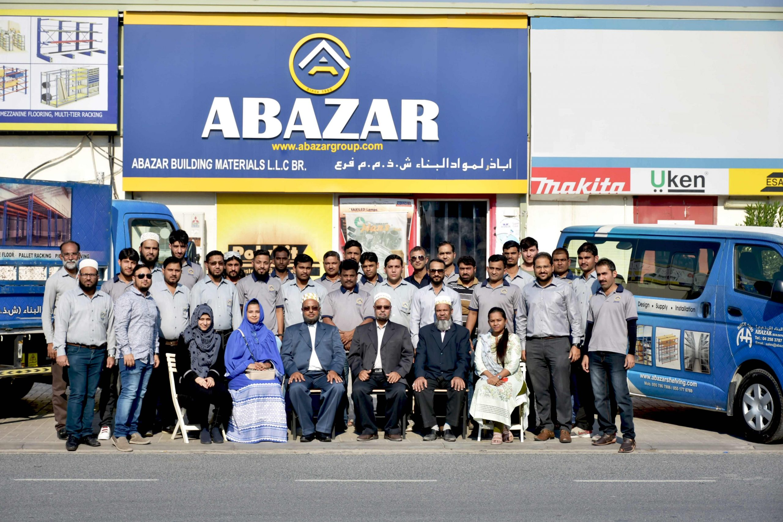 Abazar Group of Companies Staff