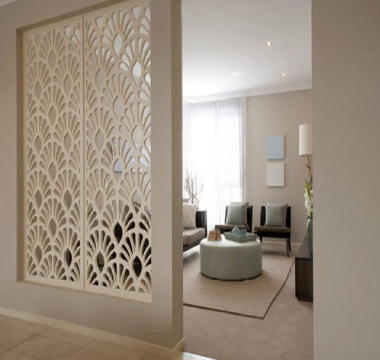 acoustic glass partition dubai